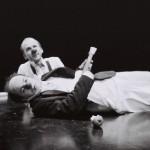 """Les clowns Bartok et Musik dans """"Moments Perdus"""""""