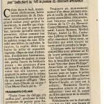 Toute l'eau du déluge n'y suffira pas - La libre Belgique - 13 février 1998